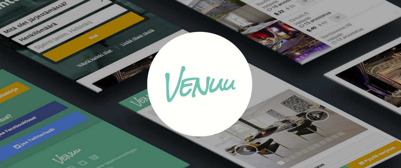 Venuu company banner